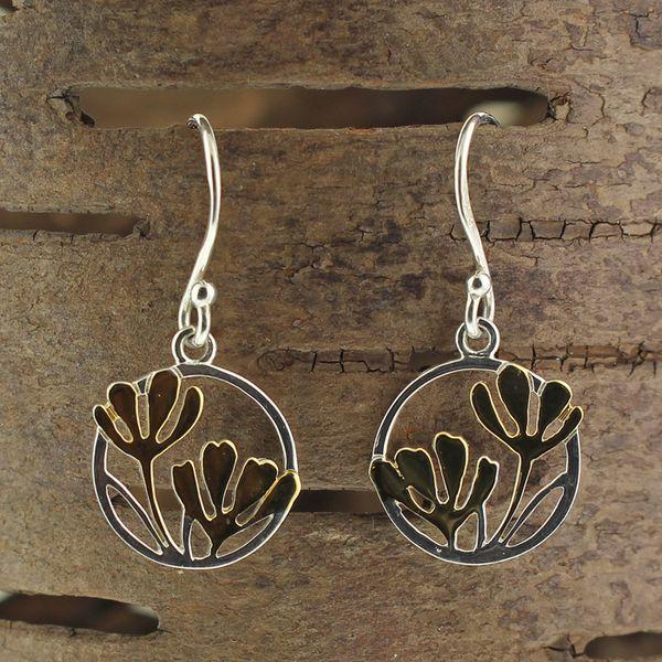 Flower Earrings Darrah Cooper, Inc. Lake Placid, NY