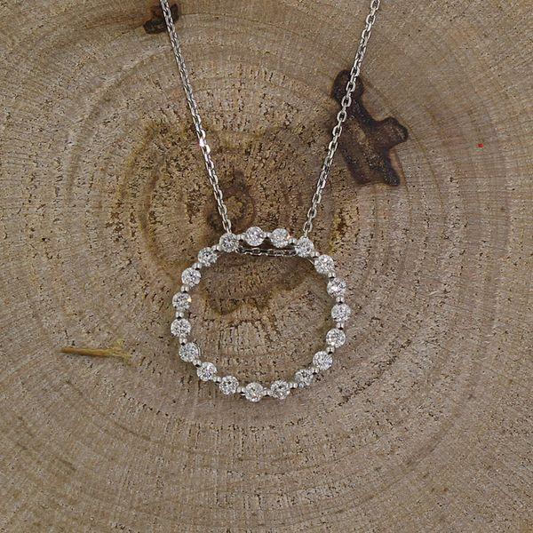 Diamond Circle Necklace Darrah Cooper, Inc. Lake Placid, NY