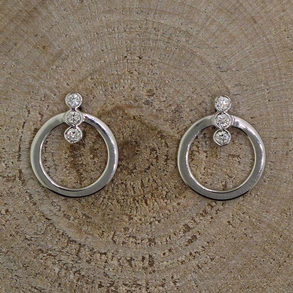 Diamond Circle Earrings Darrah Cooper, Inc. Lake Placid, NY