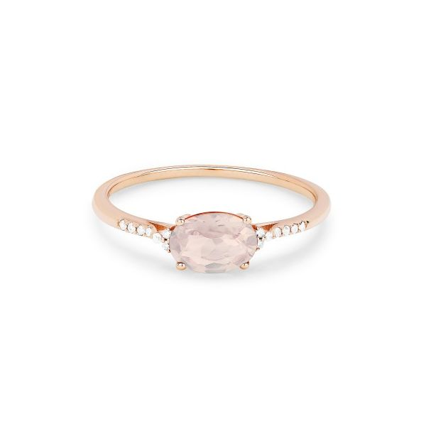 Created Morganite and Diamond Ring Darrah Cooper, Inc. Lake Placid, NY