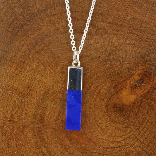 Lapis Lazuli Bar Necklace Darrah Cooper, Inc. Lake Placid, NY