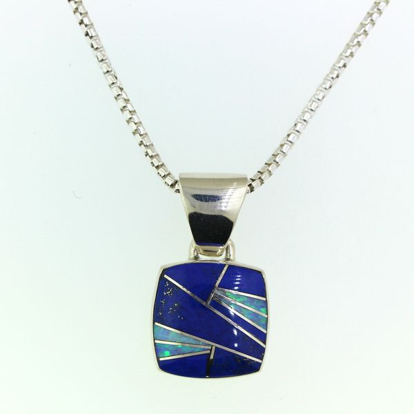 Lapis Lazuli and Synthetic Opal Necklace Darrah Cooper, Inc. Lake Placid, NY
