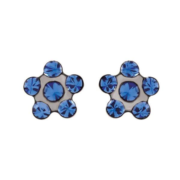 Stainless Steel Flower Earrings | 5mm David Douglas Diamonds & Jewelry Marietta, GA