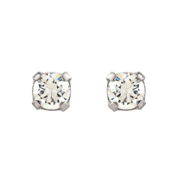 Stainless Steel Stud Earrings   2mm David Douglas Diamonds & Jewelry Marietta, GA
