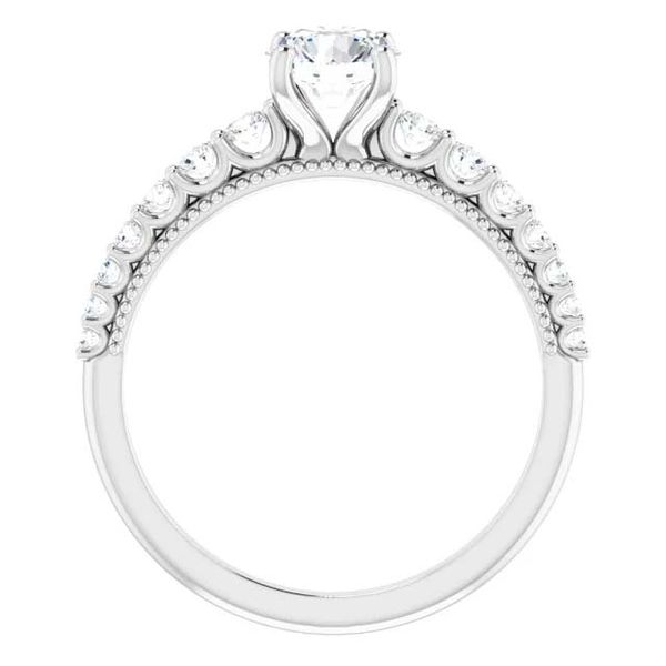 14k Graduating Lab Grown Diamond Engagement Ring Image 2 David Douglas Diamonds & Jewelry Marietta, GA