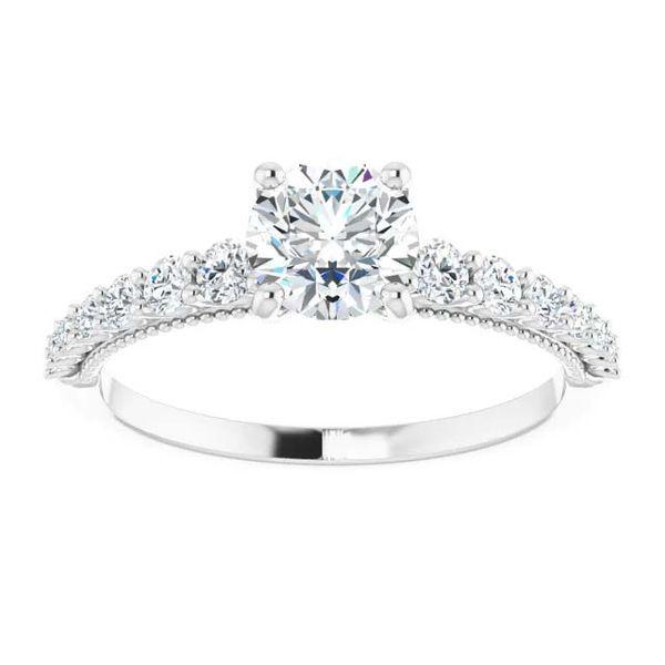 14k Graduating Lab Grown Diamond Engagement Ring Image 3 David Douglas Diamonds & Jewelry Marietta, GA