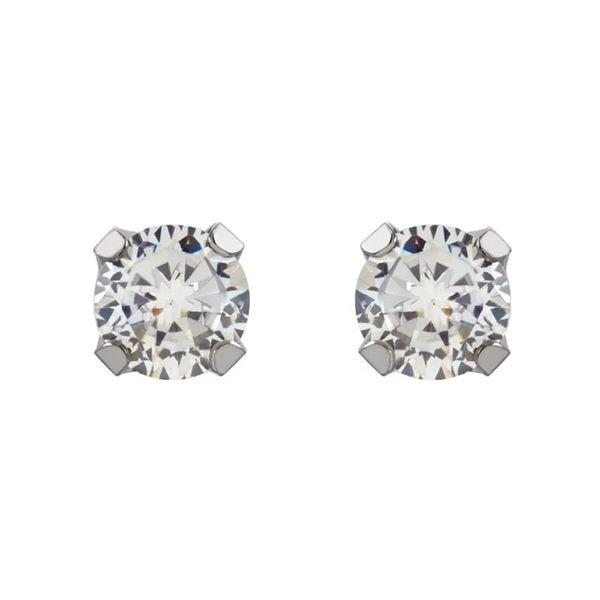 14k Stud Earrings | 3mm David Douglas Diamonds & Jewelry Marietta, GA