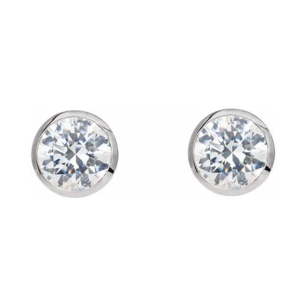 Titanium Stud Earrings   4mm David Douglas Diamonds & Jewelry Marietta, GA