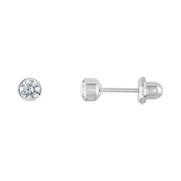 Titanium Stud Earrings   4mm Image 2 David Douglas Diamonds & Jewelry Marietta, GA