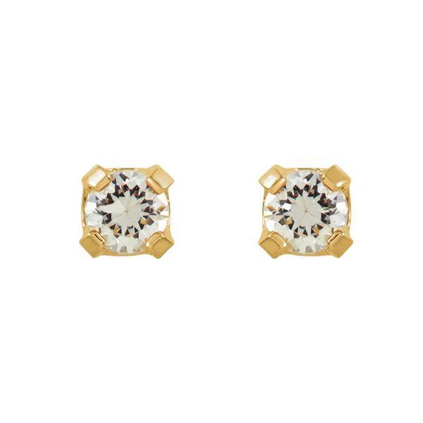 14k Stud Earrings | 2mm David Douglas Diamonds & Jewelry Marietta, GA