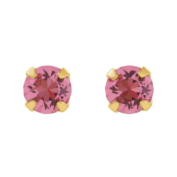 24k Plated Stud Earrings | 3mm David Douglas Diamonds & Jewelry Marietta, GA