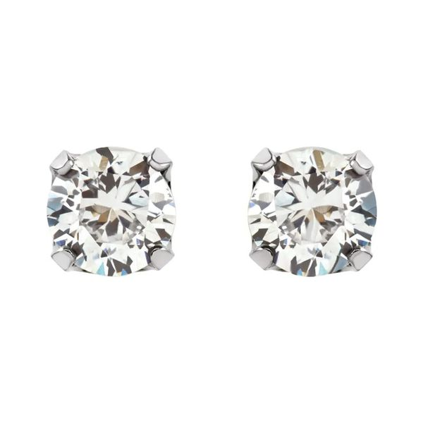 Stainless Steel Stud Earrings | 5mm David Douglas Diamonds & Jewelry Marietta, GA