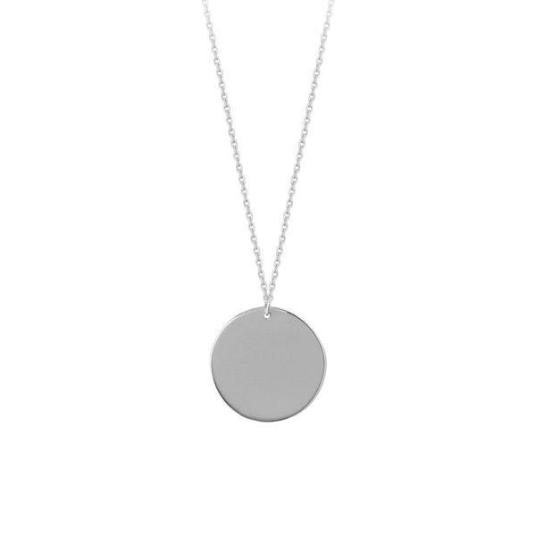 14K Disc Pendant D. Geller & Son Jewelers Atlanta, GA