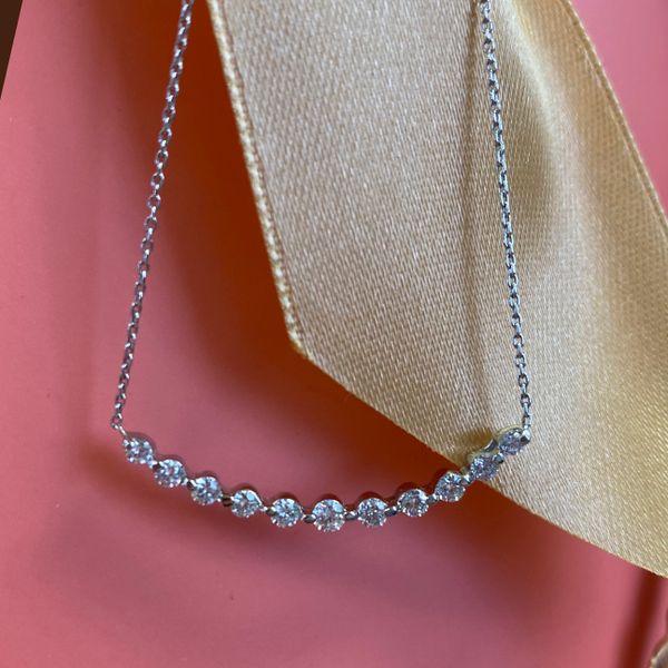 14K Diamond Necklace 1/2 ctw D. Geller & Son Jewelers Atlanta, GA