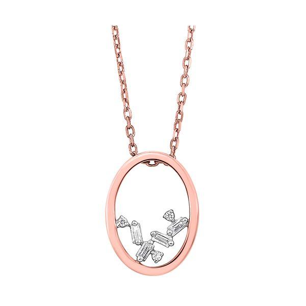 14K Diamond Pendant 1/20 ctw D. Geller & Son Jewelers Atlanta, GA