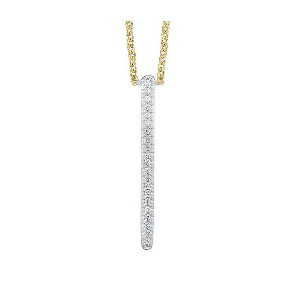 10K Diamond Pendant 1/20 ctw D. Geller & Son Jewelers Atlanta, GA