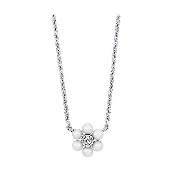 10K Diamond Pearl Pendant D. Geller & Son Jewelers Atlanta, GA