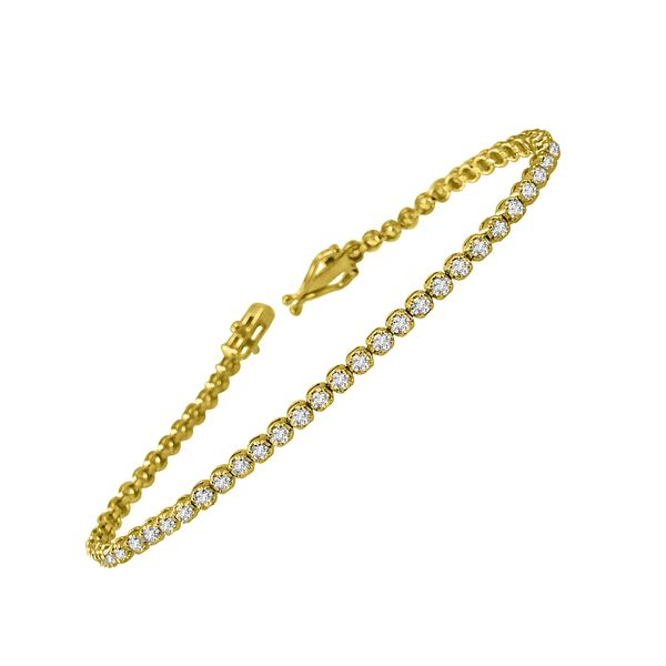 14K Diamond Bracelet 2 ctw D. Geller & Son Jewelers Atlanta, GA