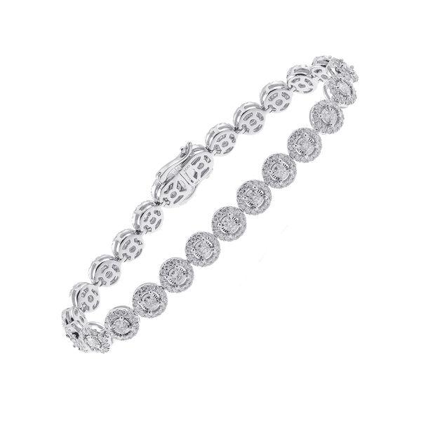 14K Diamond Bracelet 4 ctw D. Geller & Son Jewelers Atlanta, GA