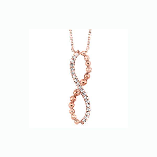 14K Diamond Bypass Pendant 1/10 ctw D. Geller & Son Jewelers Atlanta, GA