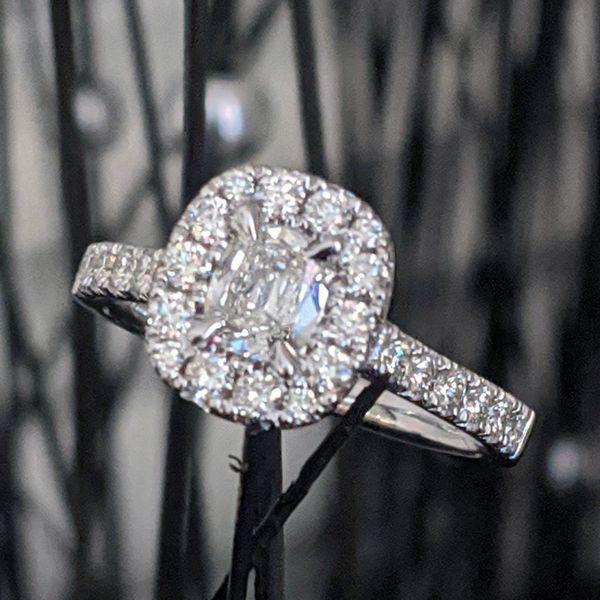 14K Diamond Halo Ring 1 ctw D. Geller & Son Jewelers Atlanta, GA