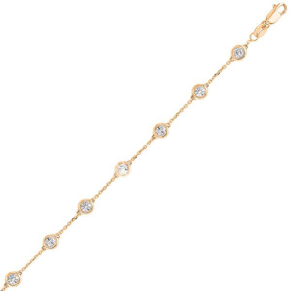 14K Diamonds By The Yard Bracelet 1ctw D. Geller & Son Jewelers Atlanta, GA