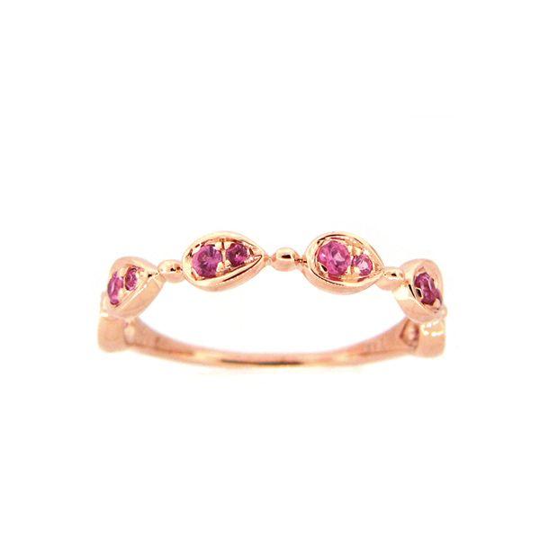 14K Pink Sapphire Ring D. Geller & Son Jewelers Atlanta, GA