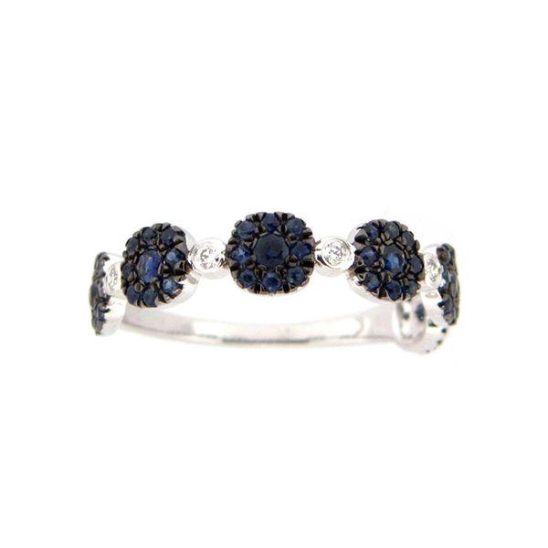 14K Sapphire & Diamond Ring D. Geller & Son Jewelers Atlanta, GA