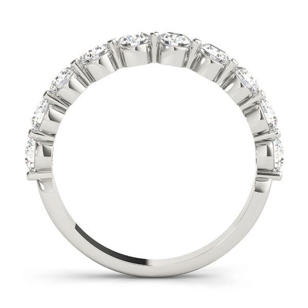 White Gold Diamond Band Image 2 D. Geller & Son Jewelers Atlanta, GA
