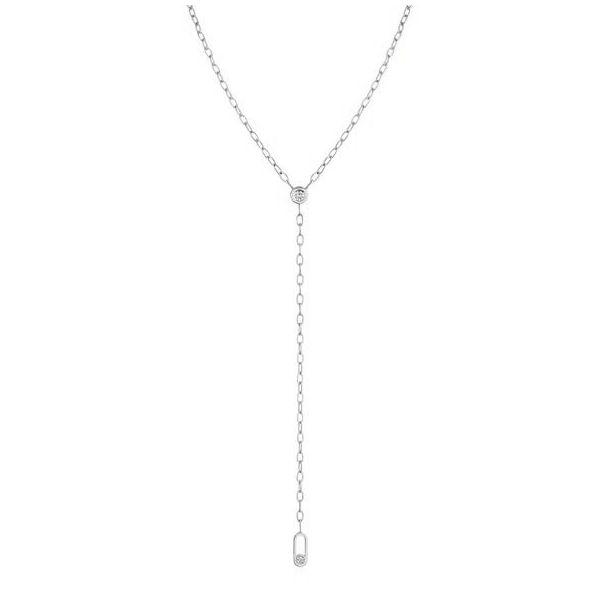 14K Diamond MM Necklace D. Geller & Son Jewelers Atlanta, GA