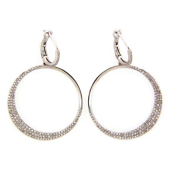 14K Diamond Earrings D. Geller & Son Jewelers Atlanta, GA
