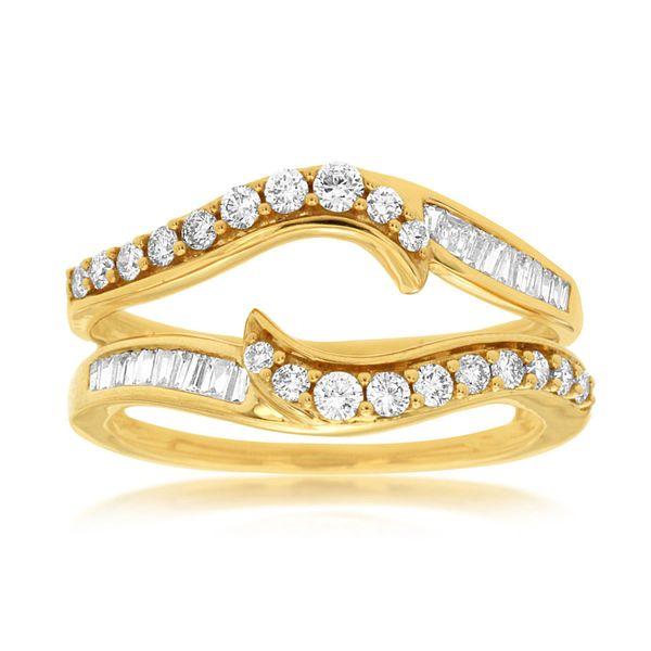14K Diamond Ring Insert D. Geller & Son Jewelers Atlanta, GA