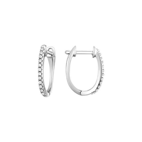 Gold Diamond Earrings 1/10 ctw D. Geller & Son Jewelers Atlanta, GA
