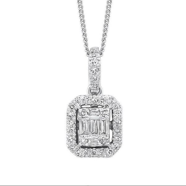 14K Diamond Pendant 1 ctw D. Geller & Son Jewelers Atlanta, GA