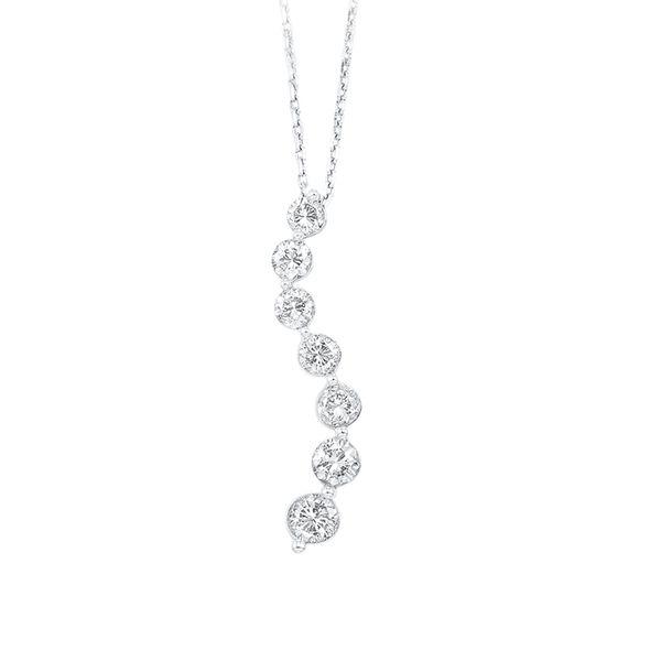 14K Diamond Journey Pendant 1/4 ctw D. Geller & Son Jewelers Atlanta, GA