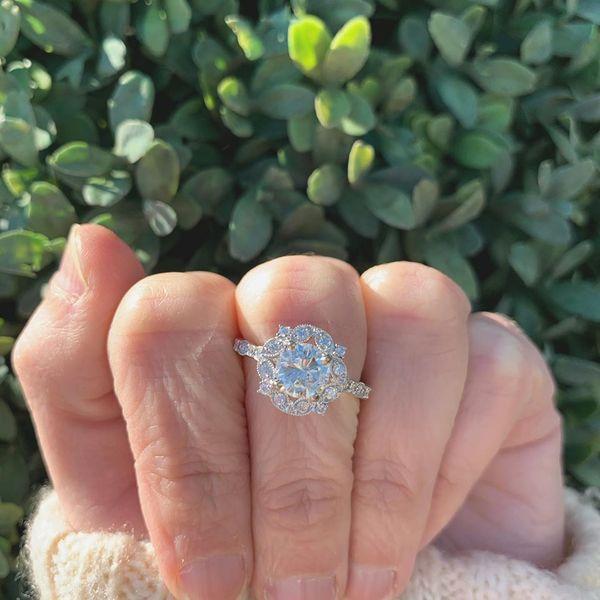 ROUND VINTAGE STYLE RING Diamond Jewelers Gulf Shores, AL