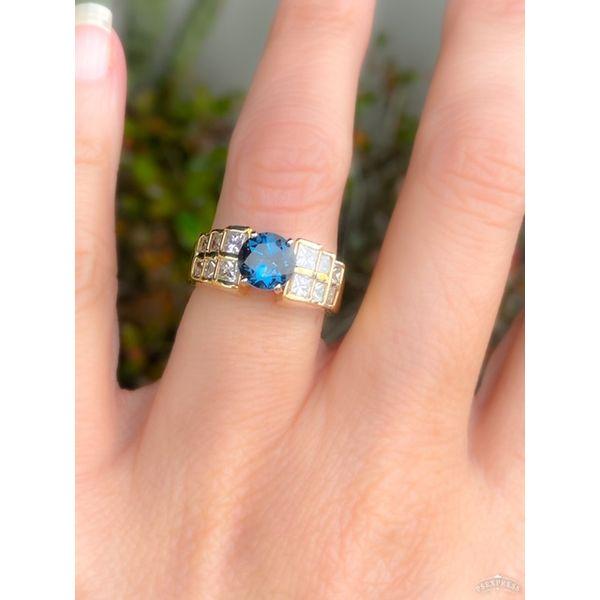ESTATE LONDON BLUE TOPAZ RING Diamond Jewelers Gulf Shores, AL