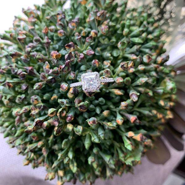 PRINCESS CUT HALO RING Diamond Jewelers Gulf Shores, AL