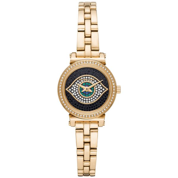 Women's Sofie Gold-Tone Stainless Steel Bracelet Watch Diamonds Direct St. Petersburg, FL