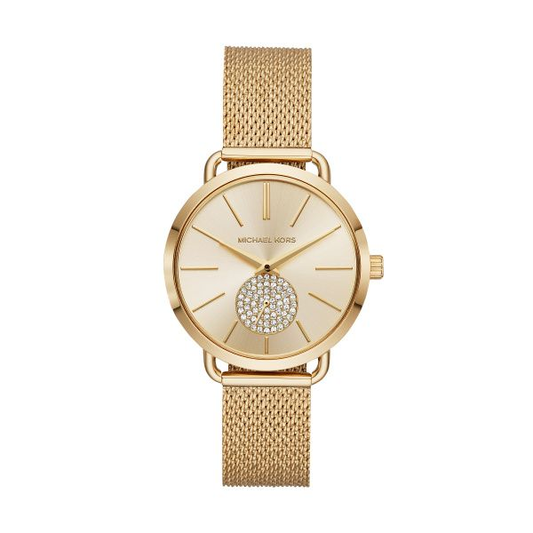 Michael Kors Gold Portia Watch  Diamonds Direct St. Petersburg, FL