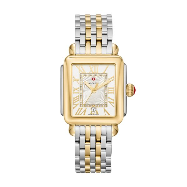Deco Madison Two-Tone, Diamond Dial Complete Watch Diamonds Direct St. Petersburg, FL