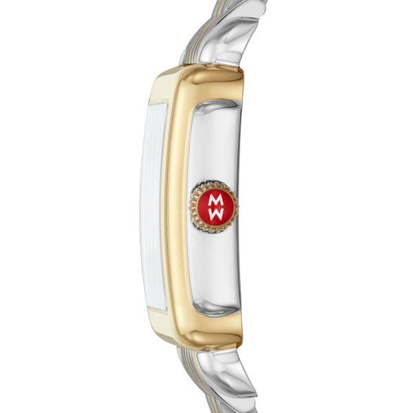 Deco Mid Two-Tone, Diamond Dial on Two-Tone Bracelet Complete Watch Image 2 Diamonds Direct St. Petersburg, FL