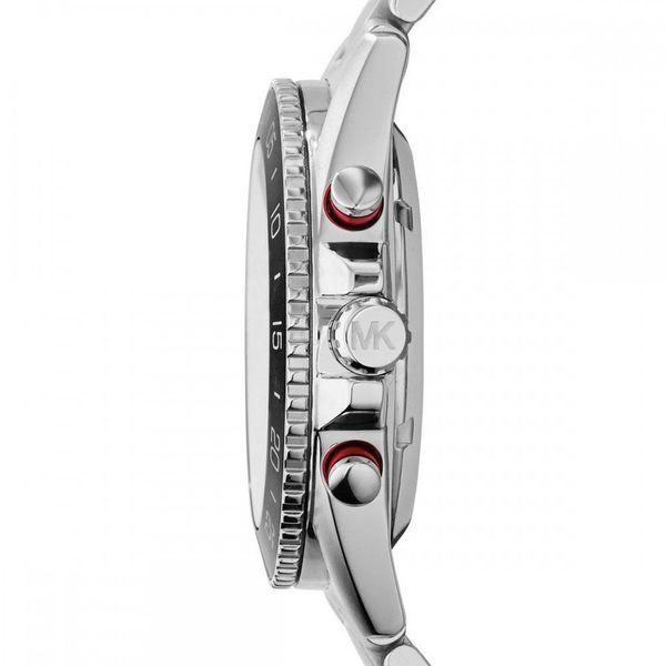 Michael Kors Men's Jet Master Automatic Multi-Function Skeletal Dial Stainless Steel Bracelet Watch Image 2 Diamonds Direct St. Petersburg, FL