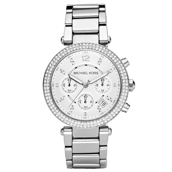Women's Chronograph Parker Stainless Steel Bracelet Watch  Diamonds Direct St. Petersburg, FL