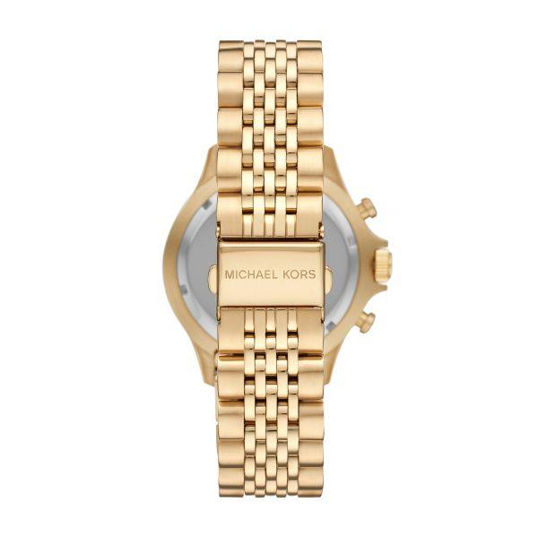 Michael Kors Gold and Black Watch  Image 2 Diamonds Direct St. Petersburg, FL