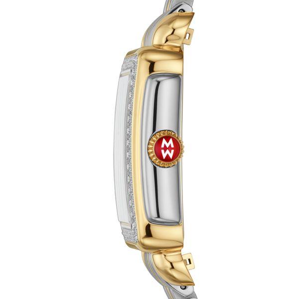 Deco Madison Mid Two-Tone Diamond Complete Watch Image 2 Diamonds Direct St. Petersburg, FL