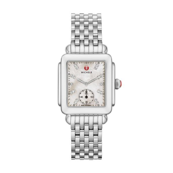 Deco Mid, Diamond Dial Complete Watch Diamonds Direct St. Petersburg, FL