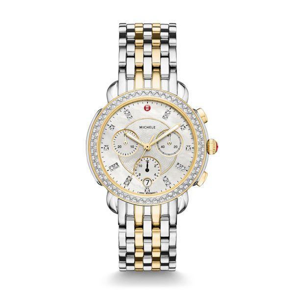 Sidney Diamond Two-Tone, Diamond Dial Complete Watch Diamonds Direct St. Petersburg, FL