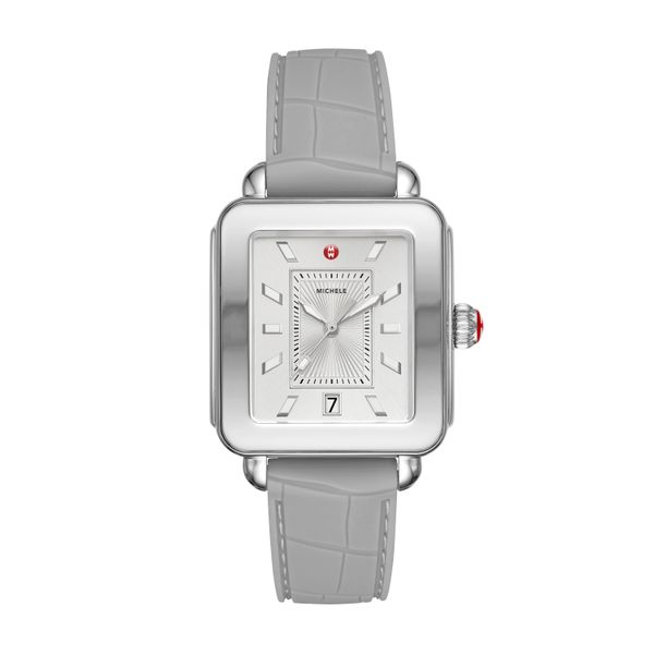 Deco Sport Stainless-Steel And Light Grey Complete Watch Diamonds Direct St. Petersburg, FL