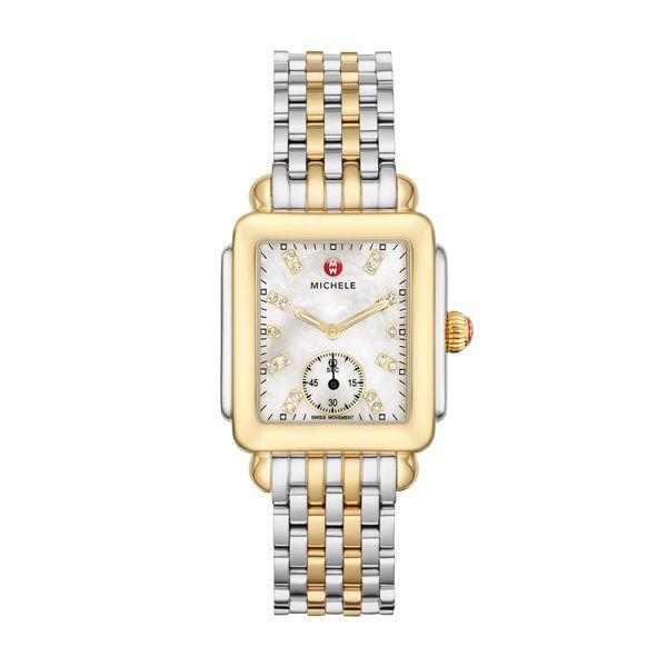 Deco Mid Two-Tone, Diamond Dial on Two-Tone Bracelet Complete Watch Diamonds Direct St. Petersburg, FL